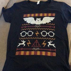 Tops - Harry Potter Christmas Sweater Tee